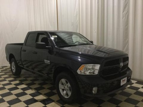 New 2018 Ram 1500 Express 4x4 Quad Cab 6'4 Box
