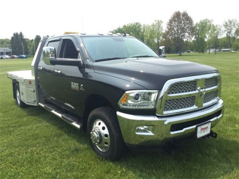 Pre-Owned 2018 Ram 3500 Laramie Flat Bed